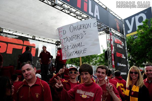 USC Football v Stanford 2013