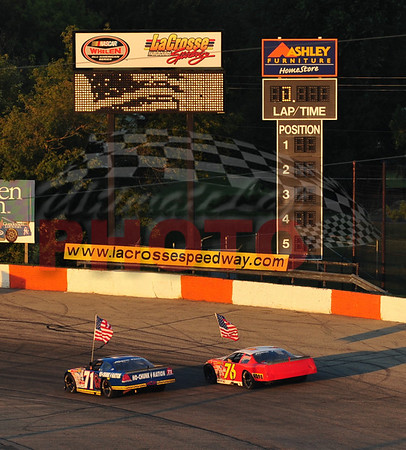 LaCrosse Fairgrounds Speedway Races, August 28th, 2010