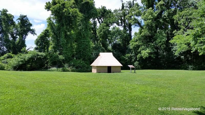 Chucalissa Indian Hut Reconstruction
