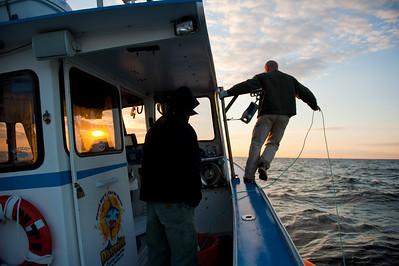 Tuna fishing aboard the Dantilu