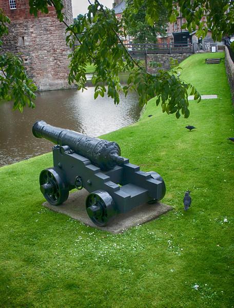 Rothesay Castle Canon, Bute.jpg