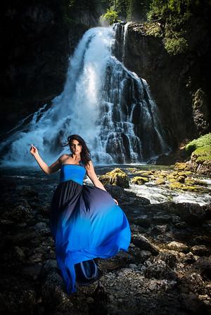 Chrissy @ Gollinger Wasserfall