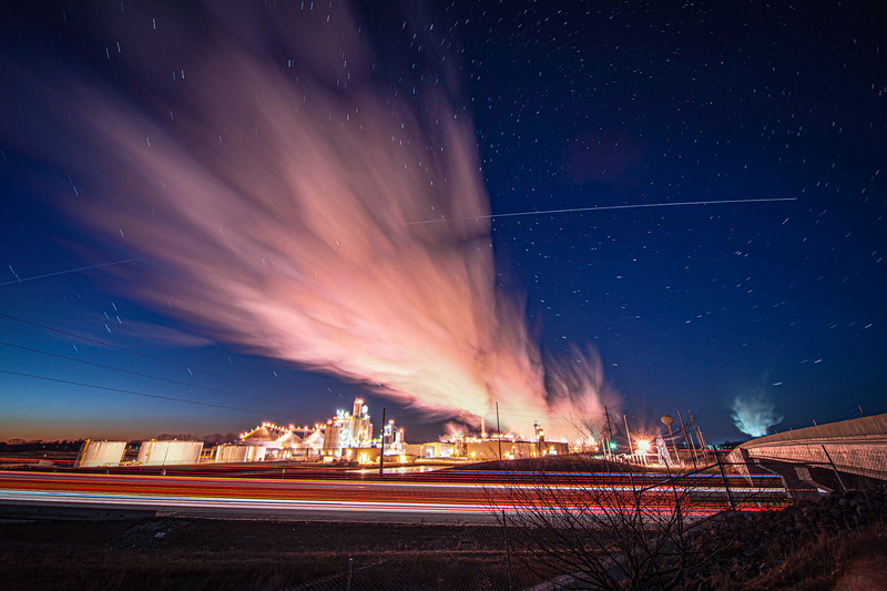 ISS over Anderson's Clymers Ethanol