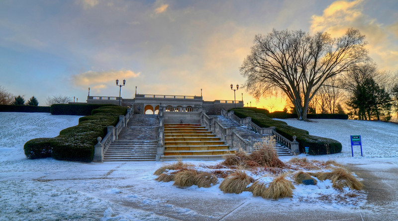 Fresh snow at Ault Park