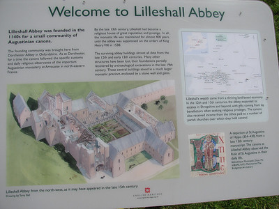 Lilleshall Abbey, May 2009