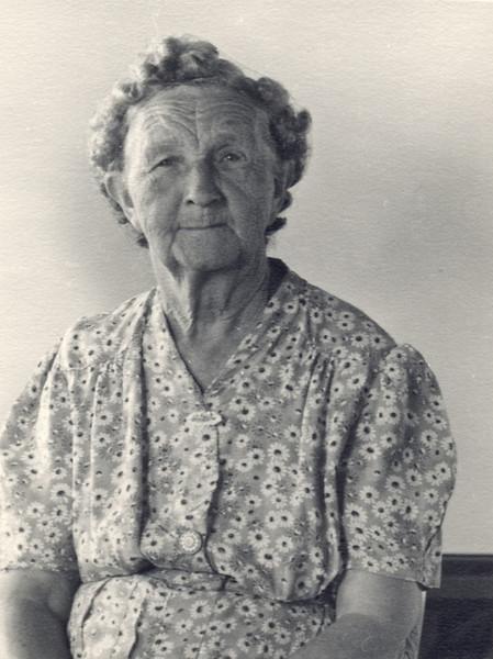 Essie Trogdon, Aug 1953. Mom's mother