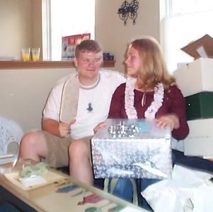 Ryan & Melissa's Wedding Shower - July 3, 2003