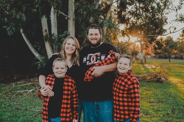 Glover Family 2019