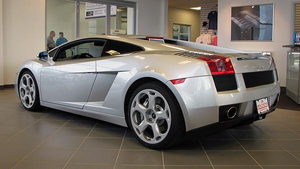 March 27, 2007:  2004 Lamborghini at Machens BMW .  .  .