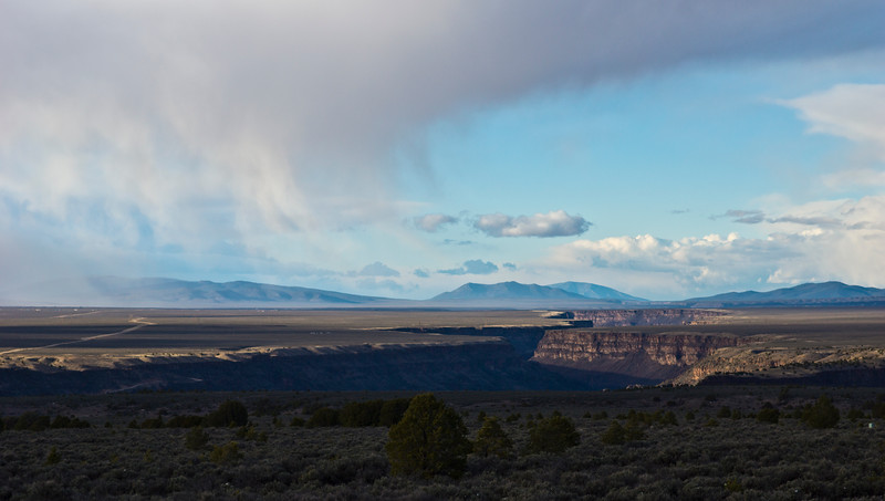 Rio Grande River Gorge, just south of Taos, New Mexico.