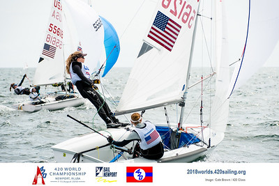 2018 420 World Championships - Newport, USA