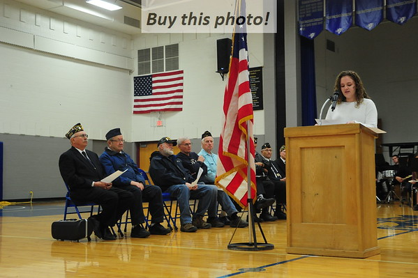 BBE Veterans Day program 11-11