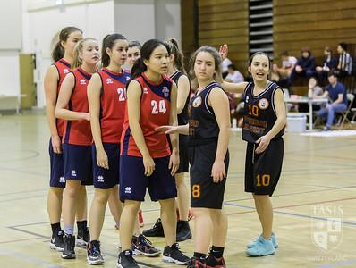 TASIS Girls Basketball Play  BC Vedeggio
