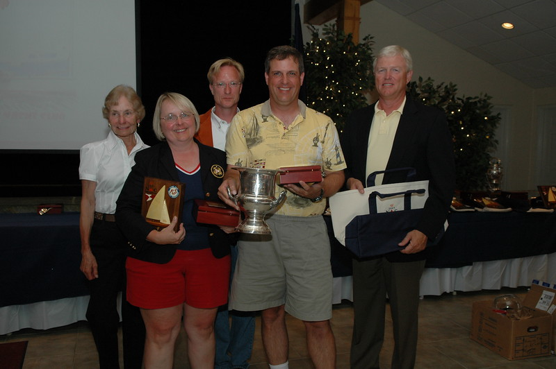 Challenger Division 3rd place awarded the Terry Schroder Trophy 74/5157 Greg Kampf/Diane Kampf