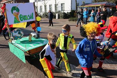 Carnavalstoet scholen Wuustwezel-centrum 2015