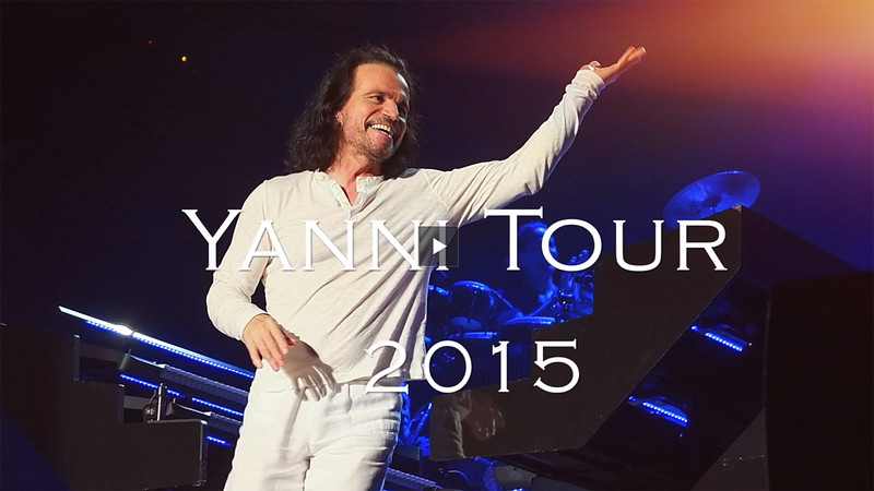 Yanni Tour 2014-2015  Oracle Arena Oakland,California-Sep.16, 2014