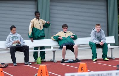 Shorecrest High School Championship Track Meet - Hurdles and a little more