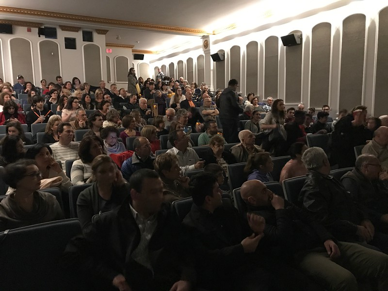 """150 parishioners of Holy Trinity attend a private viewing of """"The Promise"""" on April 21"""