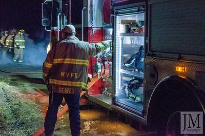 01-07-20 Walhonding Valley FD - Trailer Fire