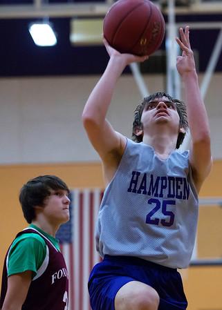 Hampden Academy v. Foxcroft Academy Unified Basketball