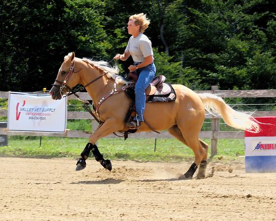Horse Barrel Racing
