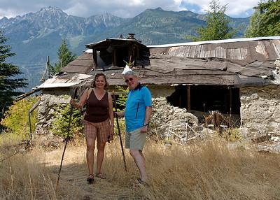 2009 July - Victor & Leona visit