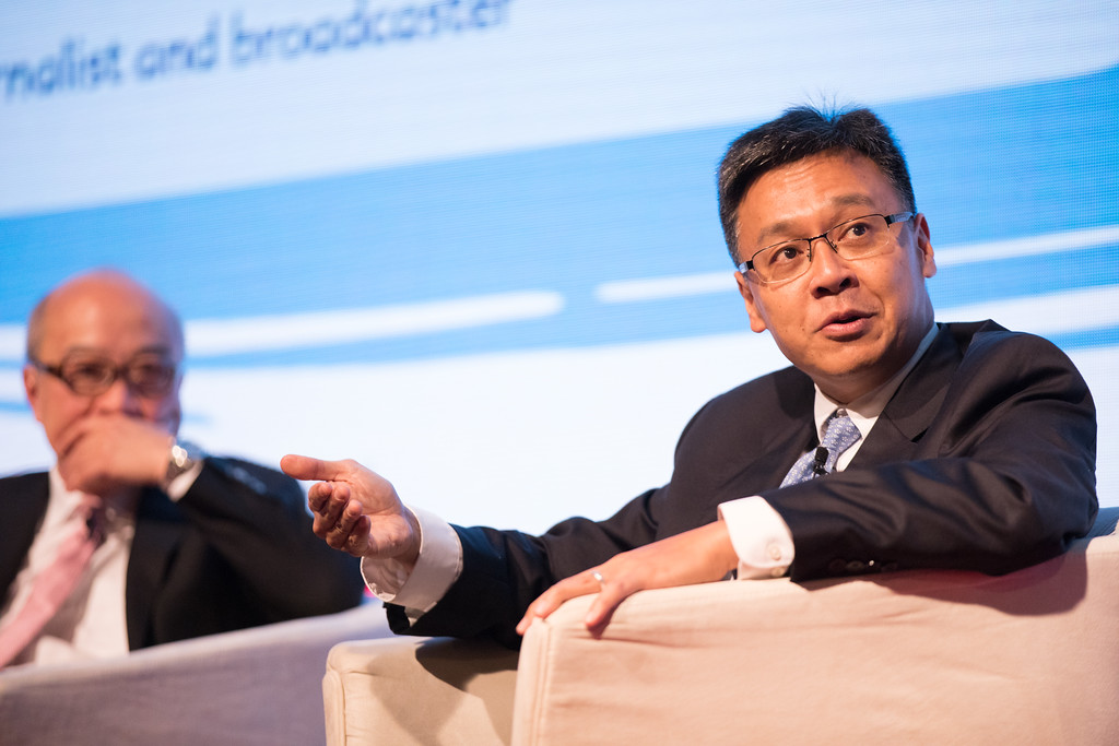 Andy TUNG, Chief Executive Officer, Orient Overseas Container Line (OOCL) speaking at SEA Asia conference.