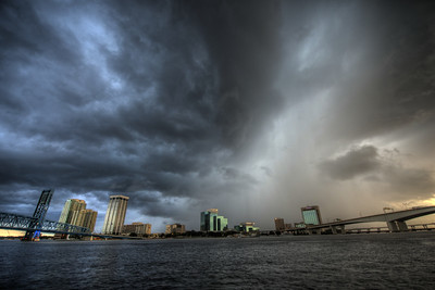 Jacksonville Storm Clouds