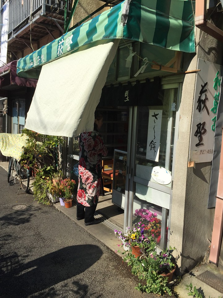 Ogino sweets and rice shop