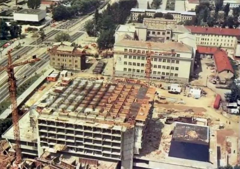 Gradnja Holiday Inna