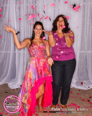 Gabrielle's Sweet 16 Photo Booth