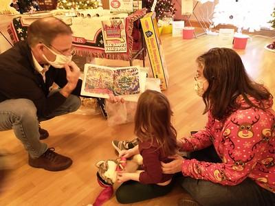 J. Anthony Garreffi 'I Caught Santa' book reading