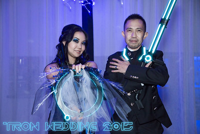 Wendi and Lorenzo - Tron Wedding