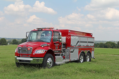 Greenwood Slidell  (TX) Fire Department's latest delivery.