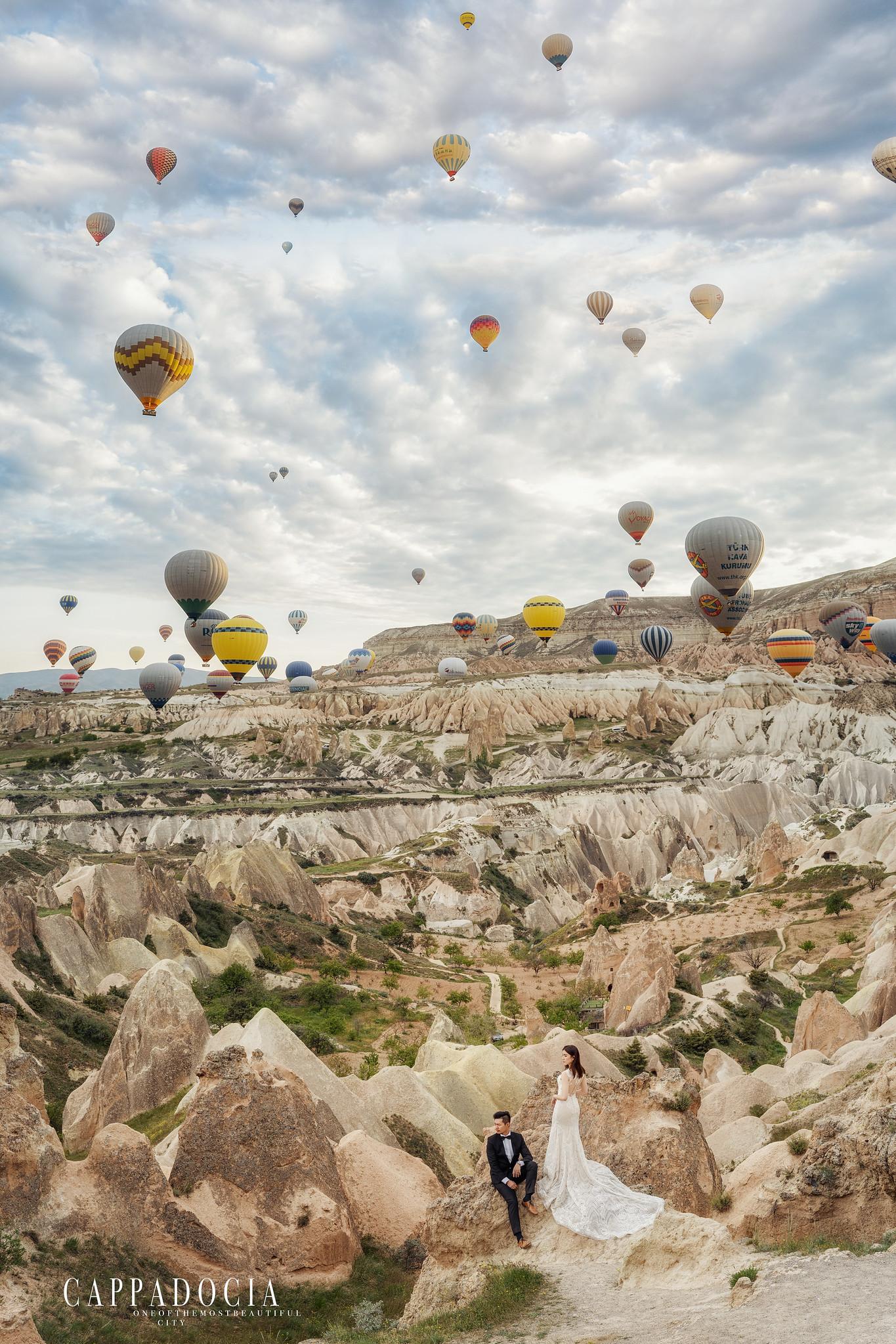 Donfer, 海外婚紗, World tour, 東法, EASTERN WEDDING, 世界旅拍, 卡帕多奇亞 , 熱氣球, Cappadocia, 土耳其婚紗