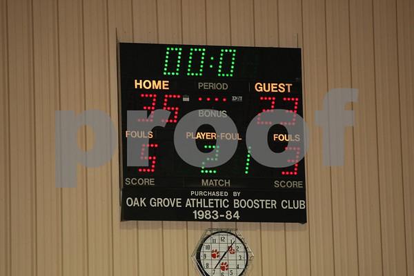 Junior Varsity-Oak Grove vs Higginsville 12-13-07