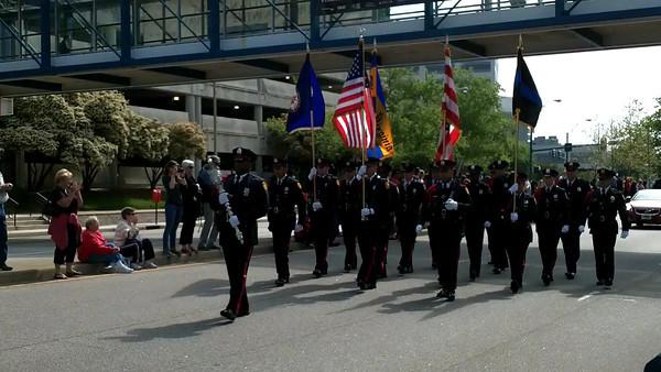 2013 NATO Festival Parade and Flag Raising