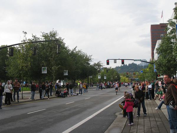 Portland Marathon - October 2009