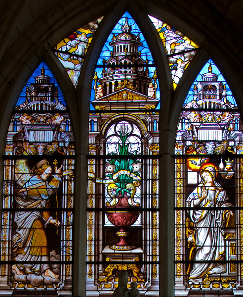 Mussy-sur-Seine Church of Saint-Pierre, The Annunciation