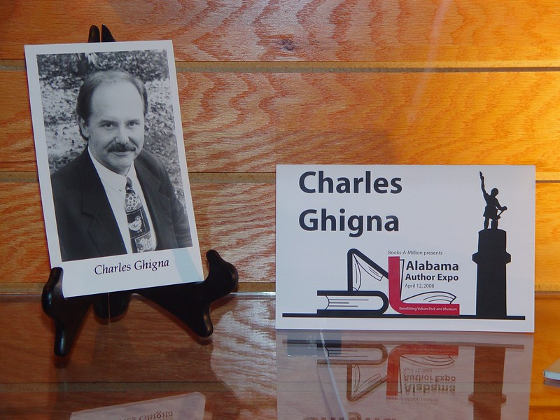 Ghigna was part of the Alabama Author Expo '08.jpg