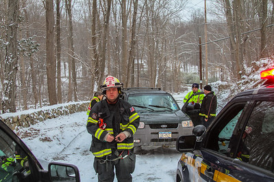 1-31-17 MVA With Injuries, Old Albany Post Road, Photos By Bob Rimm
