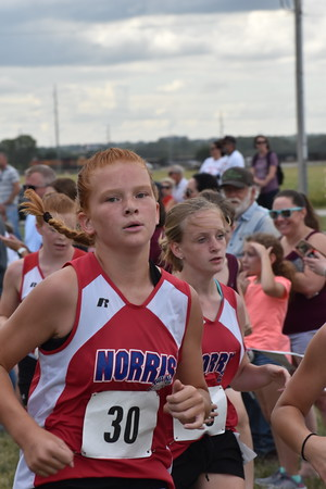 Middle School Cross Country at Waverly