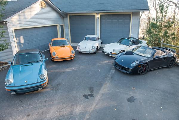Family of Porsche's