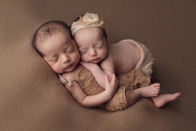 lola + garrett newborn