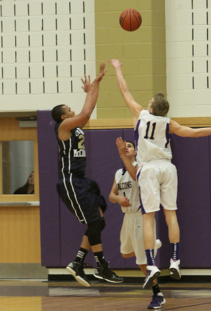 Falcons Basketball defeated Cardinal McCarrick, Feb. 6, 2014