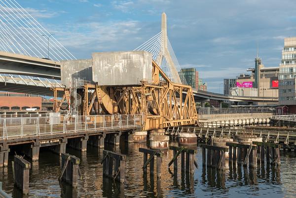 Zakim Bridge, Boston, 7-Sept-2018