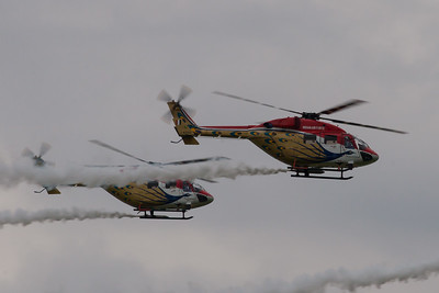 Sarang Helicopter Display team