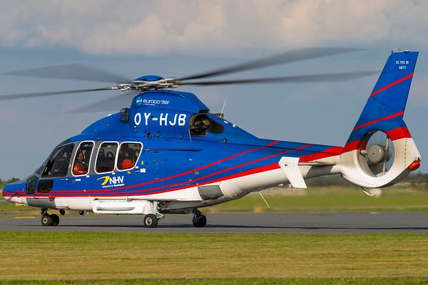 OY-HJB - Eurocopter EC155 B1 Dauphin