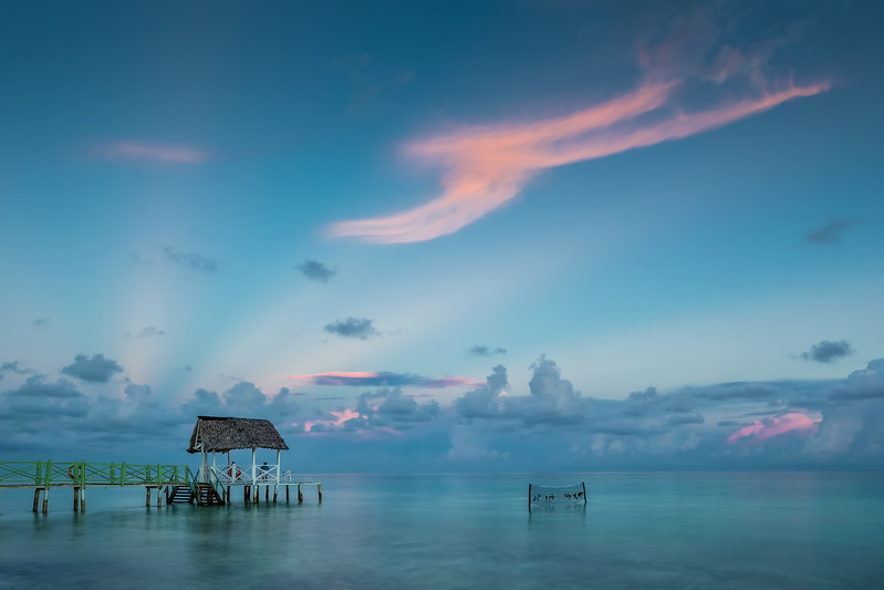 How to Become a Travel Photographer – Cuba. Sunrise at Cayo Coco beach.