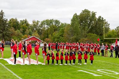 Boys Varsity Football - 10/4/2019 Grant Homecoming